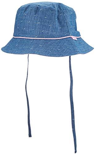 maximo Mädchen Hut Mütze, Blau (Denim/Mandelblüte 4023), (Herstellergröße: 51)