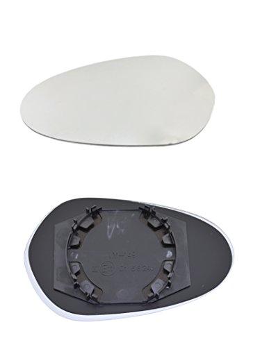 TarosTrade 57-0197-N-48235 Vetro Specchietto Retrovisore Destro=Sinistro
