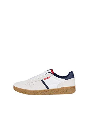 Jack & Jones NOS Herren JFWHUNTER SUEDE WINTER WHITE NOOS Sneaker, Winter White, 40 EU