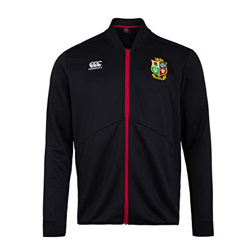 Canterbury of New Zealand British and Irish Lions Rugby - Giacca da uomo, Uomo, Giacca, 5054773329177, Nero , M