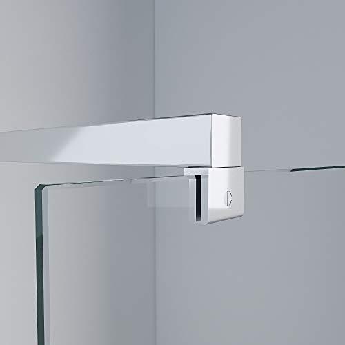 MASILY Haltestange S3 Stabilisator Stabilisierungsstange Walkin Duschwand 8-10mm Dusche