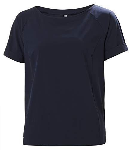 Helly Hansen Thalia T-Shirt à Manches Courtes pour Femme Bleu Marine 597 Taille S