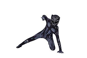 YUNFENG Kids Bodysuit Superhero Costumes Spandex Halloween Cosplay Costumes  X-Small Navy …