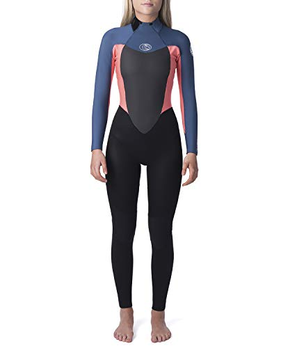 SYROKAN Donna Rashguard Costume da Bagno Maglia Protettiva a Maniche Lunghe UV 50+