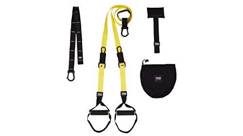 TRX Burn Suspension Trainer Schlingentrainer: Bodyweight Resistance System, Ganzkörpertraining für zu Hause, auf Reisen und im Freien Muskeln aufbauen, Fett verbrennen, Cardio verbessern