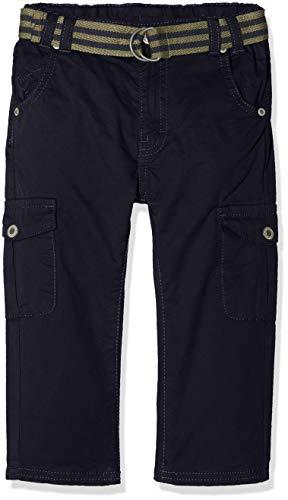 Steiff Hose Pantalon, Bleu (Marine|Blue 3032), 18 Mois Bébé garçon