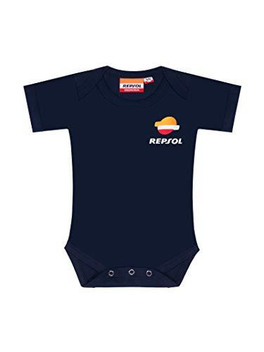 REPSOL RACING - Body para bebé, Color Azul 12-18 MESI