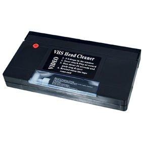 Ex-Pro - Cinta de VHS de limpieza con producto limpiador