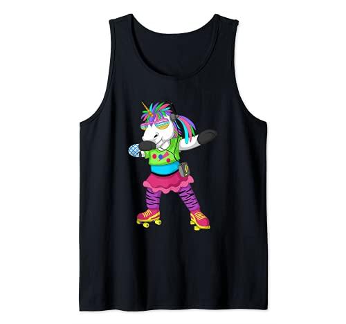 Disfraz de unicornio de los años 80, 90, para fiesta retro de los años 80 Camiseta sin Mangas