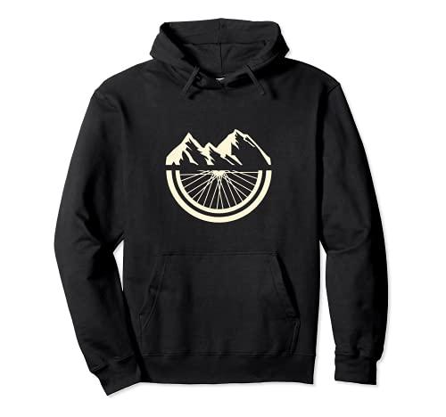 Mountain Bike I MTB I Cycling I Cyclist I Bicycle Biking Pullover Hoodie