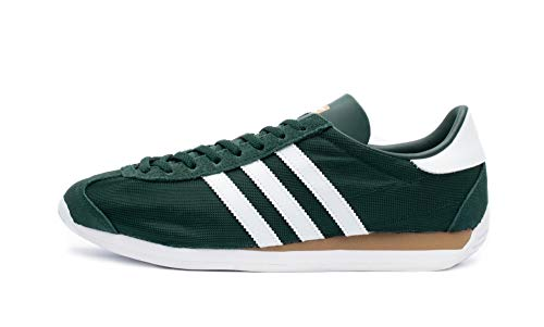 adidas Originals Country, Collegiate Green-Footwear White-Carbon, 11,5