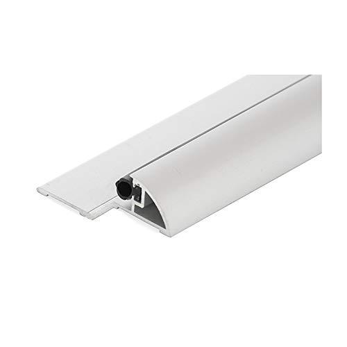 Seuil de porte Découpé - KLOSE besser - Finement Anodisé Argent - Mini 50 - Longueur 93 cm KLOSE BESSER