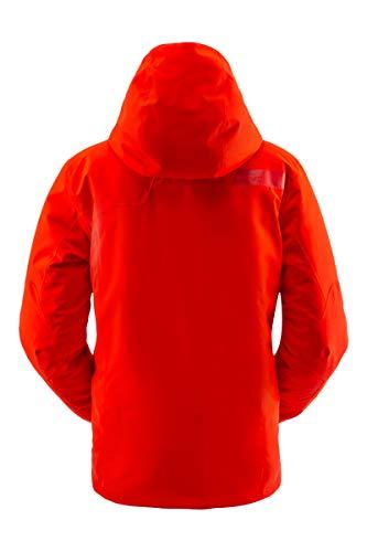Spyder Herren-Skijacke Tripoint Gore-Tex - Mit durchgehendem Reißverschluss und Kapuze, Wintermantel, Herren, Tripoint Gore-tex Ski Jacket, Vulkan, Small