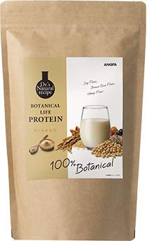 アンファー (ANGFA) ボタニカルライフ プロテイン (きな粉味) ソイプロテイン ダイエット おきかえ 美容 女性用 [無添加/植物性/低糖質/低脂質/低カロリー/大豆 ソイ/ドクターズナチュラルレシピ ] 375g