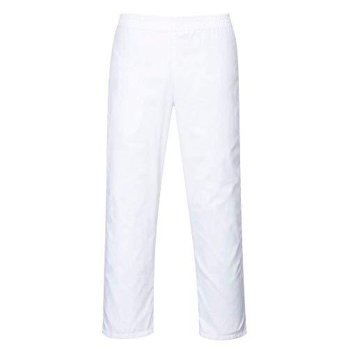 Portwest 2208Bäckerhose, Size: Medium, weiß, 1