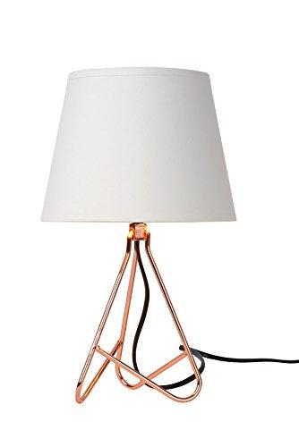 Lucide GITTA - Tischlampe - Ø 17 cm - E14 - Kupfer