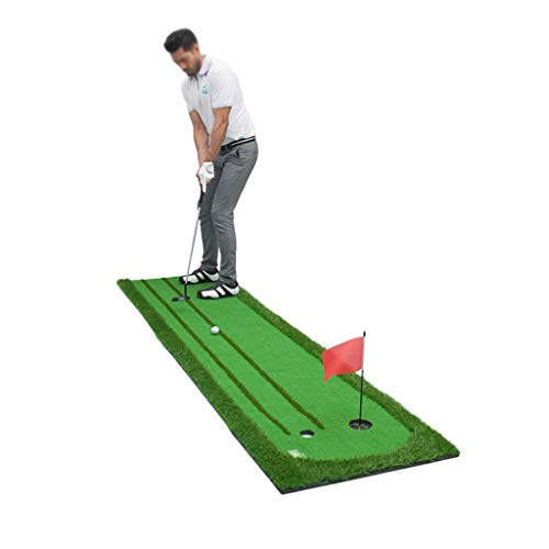 Why Should You Buy ZTJQD Indoor and Outdoor Golf Putting Practicer - Double Fairway Design Precision...