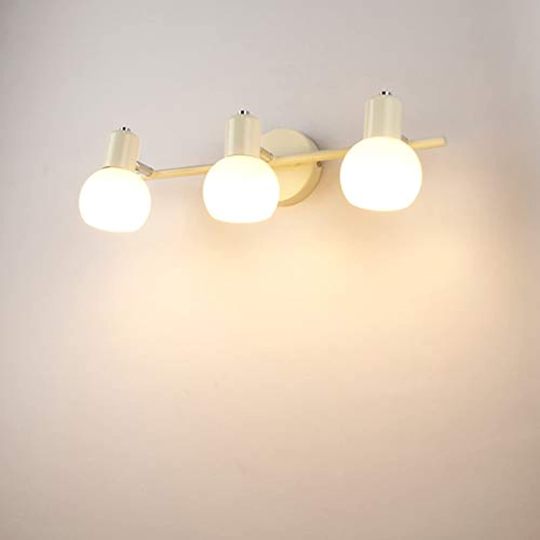 SXFYWYM Modernes Spiegel-Scheinwerferlicht Umkleidetisch Vanity Mirror Bad Toilette Toilette Lampe Beleuchtung,Weiß,3Farbe