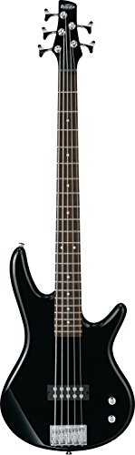 Ibanez 5 String Bass Guitar, Right, Black (GSR105EXBK)