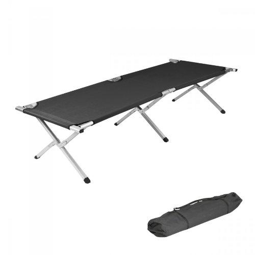 Cama de aluminio plegable, para camping,...