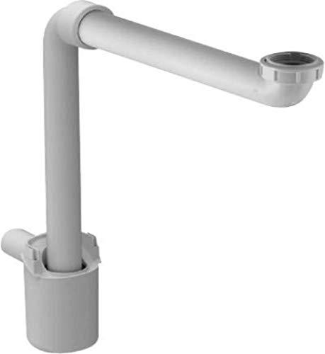 Duravit Raumsparsifon Kunststoff Weiß , 0050760000