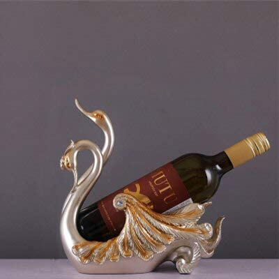 Atlanta Mall Animal Sculpture Resin Wine Classic Table-Bottle Wi Rack Rack-Resin
