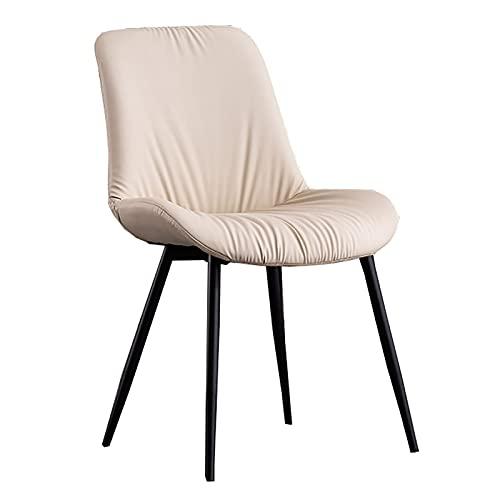 Sedia moderna di metà secolo, poltrona con spugna ad alta resilienza e struttura in legno massello, per cucina, soggiorno, camera da letto, ufficio (5 colori, 85 cm)