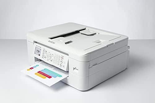 Brother MFCJ1010DW Stampante multifunzione inkjet a colori 4 in 1,Formato A4,Connettività wireless, Stampa fronte-retro automatica,Display LCD a colori 4,5 cm, Stampa direttamente su carta fotografica