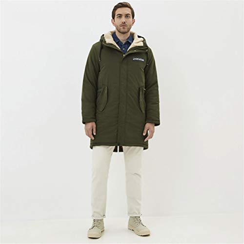 TBAO Neue Herren Wintermantel Stilvolle Shorts Jacke Winddichte Und Warme Herrenbekleidung (Color : M832, Size : 54)