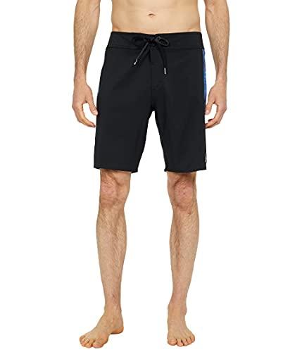 Volcom Men's Mod Dead Lido 19 Board Shorts, Black, 32A
