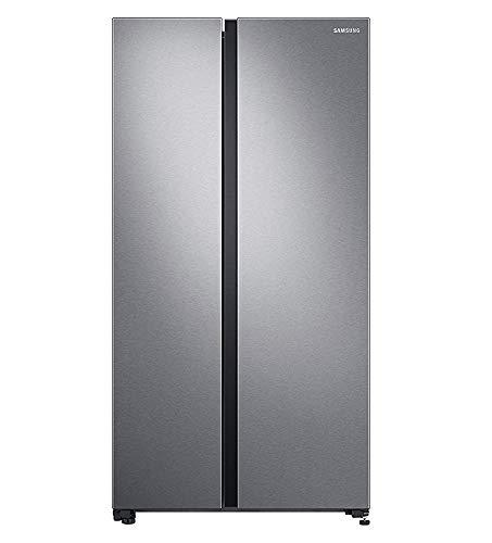 Samsung 700 L Inverter Frost-Free Side-by-Side Refrigerator (RS72R5011SL/TL, EZ Clean Steel)