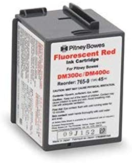 Save On Postage Ink Genuine Compatible 765-9 Pitney Bowes Red Ink Cartridge