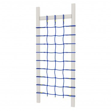 Winnetoo Kletternetz blau für Spielturm