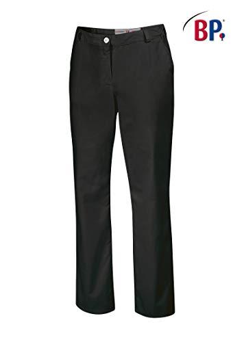 BP1644-686-32-16n Hosen für Frauen mit elastischen Seiten 230,00 g/m² Stoffmischung mit Stretch, schwarz 42n