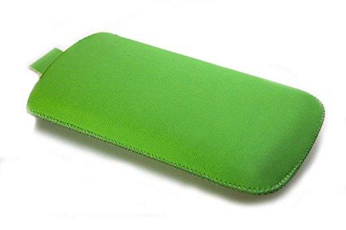 caseroxx Etui para Samsung Galaxy Young GT-S6310 S6310N, Bolsa (Estuche en Verde)