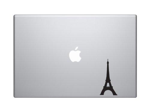 Great Architecture - Eiffel Tower Paris France Monument - 5' Black Vinyl Decal Sticker Car Macbook Laptop