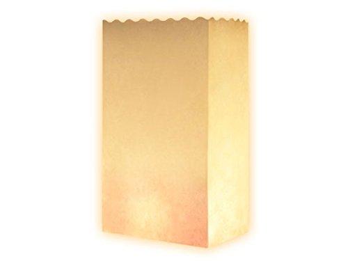 Vegena Papieren zakjes, 100 stuks, bruine papieren zakjes, cadeauzakjes met bodem voor adventskalender, paaszakjes, knutselgeschenken, communie, bruiloften, noten, broodzakjes, cadeauzakjes