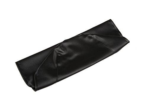 FEZ Sitzbezug glatt, schwarz für kurze Sitzbank ohne Schriftzug - für Simson KR51/1 Schwalbe, SR4-2 Star