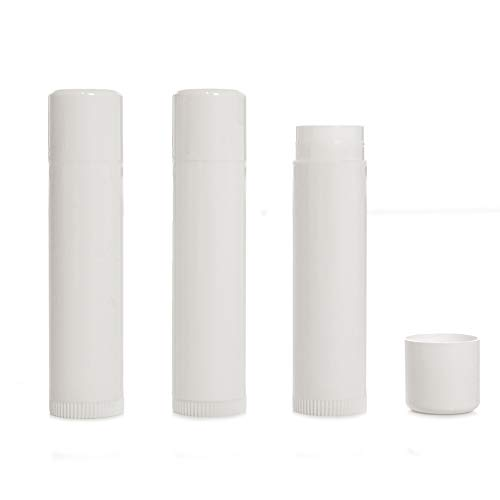 Milliard Lip Balm Crafting Tube Refills -BPA Free- 100 Pack - Clear