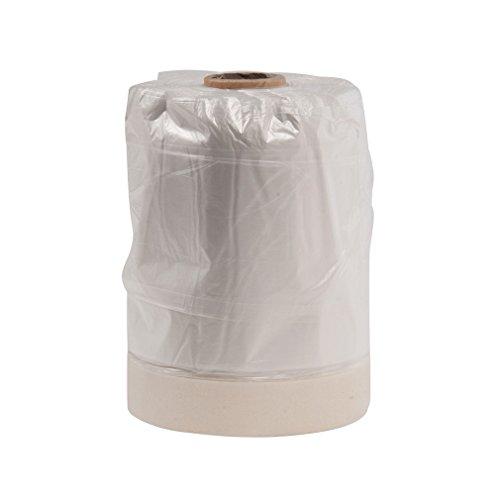 Silverline Tools Lámina cobertora de HDPE, con cinta de pintor, en rollo, Multicolor
