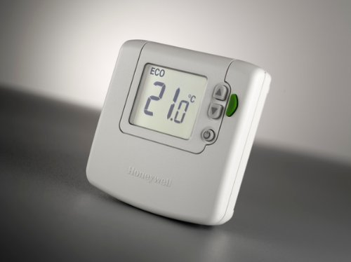 Honeywell DT92E1000 draadloze digitale room thermostaat | DT92E | White by Honeywell