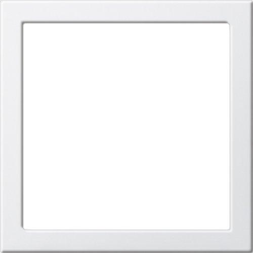 Gira Montagerahmen bruchsicher ST55 reinweiß-glänzend, 264803