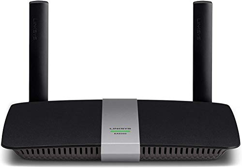 Linksys EA6350 AC1200 Dual Band Smart Wi-Fi Wireless Router Black - Renewed