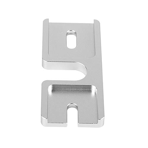 Printer Accessories Hotend Aluminum Groove Mounting Plate for 3D Printer DIY Extruder J-Head Mount Plates