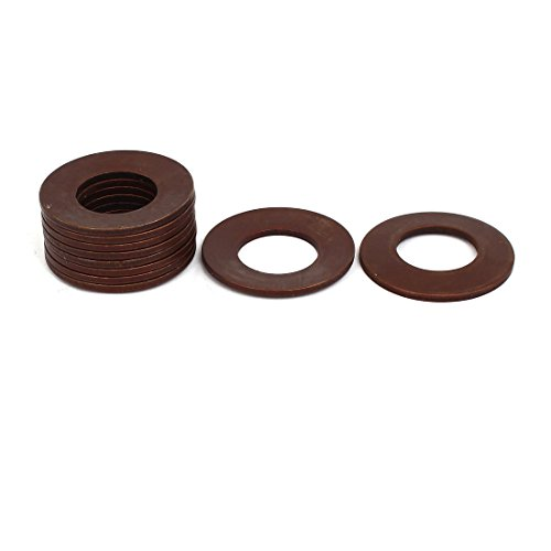 Aexit 25mm Outer Washers Dia 12.2mm Inner Dia 0.9mm Thickness Belleville Spring Belleville Washers Washer 10pcs