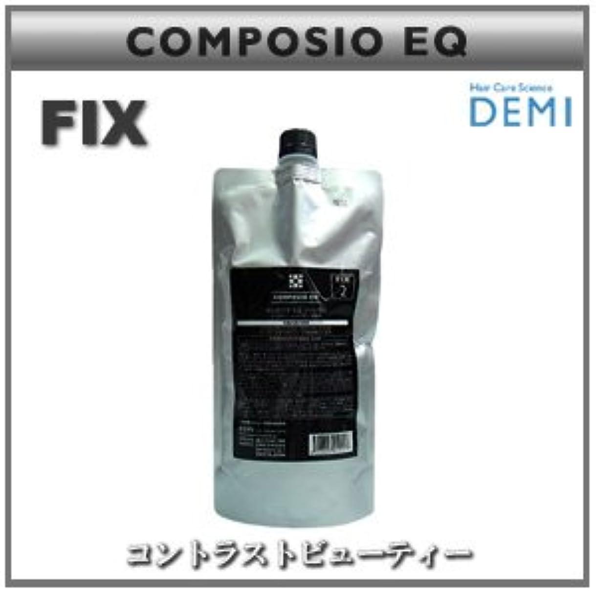 はっきりしない雑草ペルー【X5個セット】 デミ コンポジオ EQ フィックス 450g