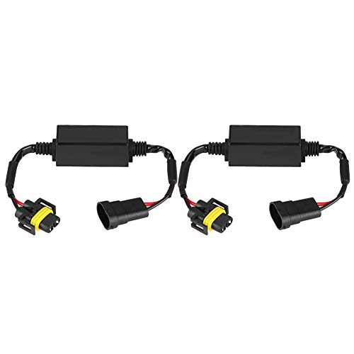 Yctze LED Scheinwerfer Decoder für H8/H9/H11 C12 LED Scheinwerfer Nebelscheinwerfer Anti-Flicker Flash Error Canceler