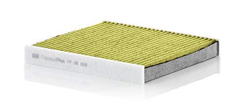 MANN-FILTER Original Innenraumluftfilter FP 26 009 – FreciousPlus Biofunktionaler Pollenfilter – Für PKW
