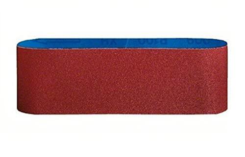 Bosch 2 608 606 017 - Set de 3 bandas lijadoras (65 x 410 mm, 80)