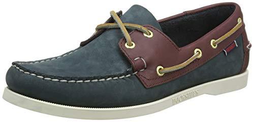 Sebago Sebago SPINNAKER, Herren Bootsschuhe, Mehrfarbig (BLUE/BROWN), 41 EU (7.5 US)